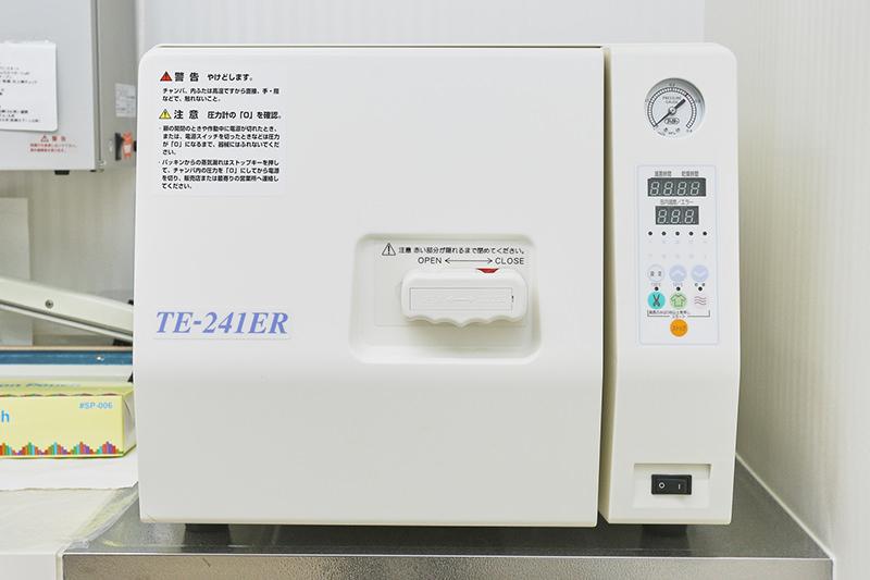 全自動高圧蒸気滅菌器(オートクレーブ)